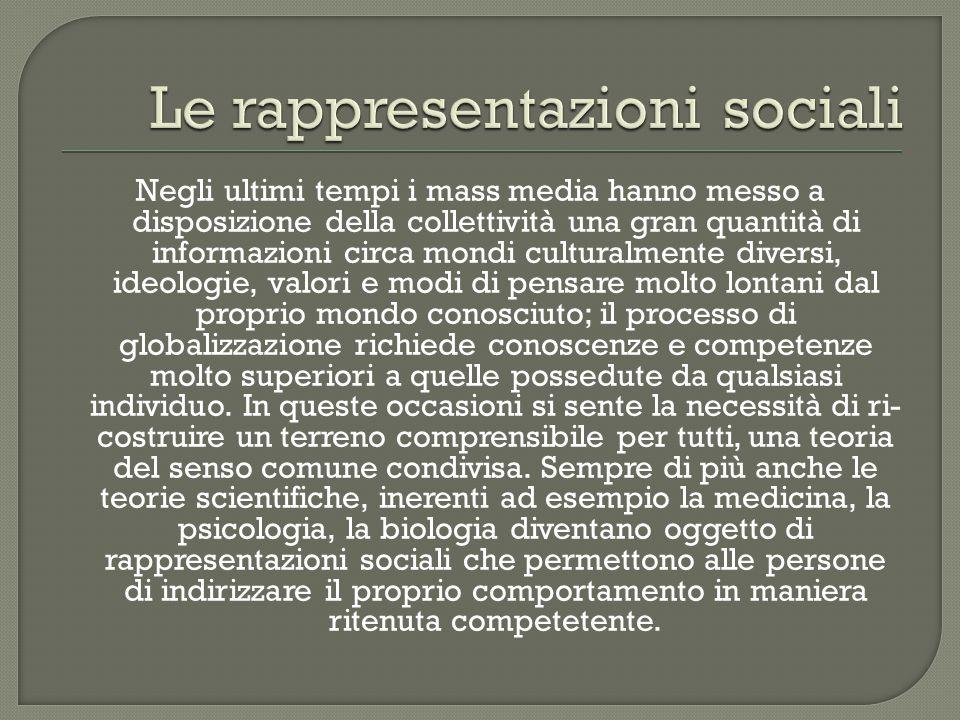  Rappresentazioni collettive 1898  Nuclei di idee che nate in società (i miti, le religioni) vanno al di là di essa  Sono stabili e fisse nel tempo  Hanno la funzione di mantenere la consistenza sociale