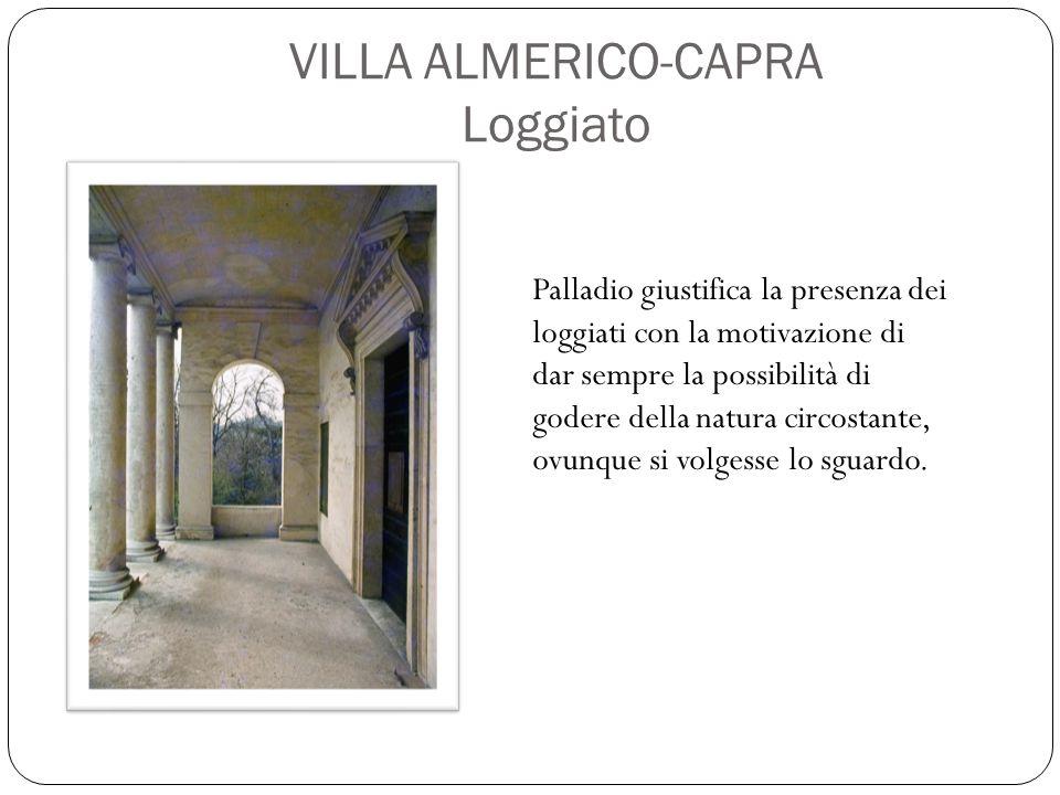 ambienti di servizio della villa Le zone porticate, invece, sono gli ambienti di servizio della villa, destinate alle attività produttive (stalle, scuderie, magazzini, depositi).