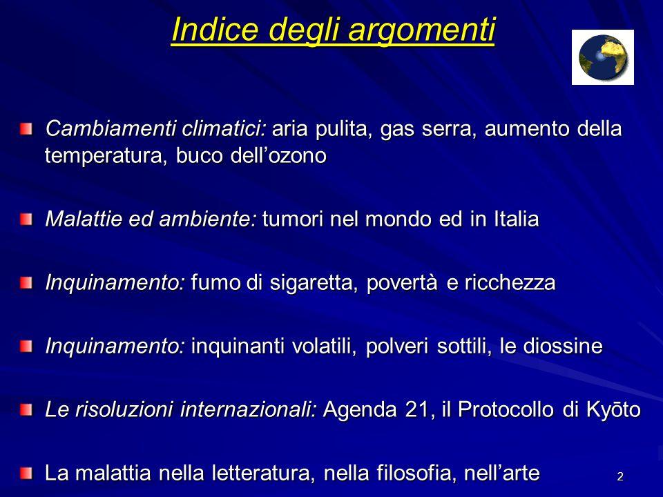 1 Ambiente e malattie Filippo Lucente 5ª Lb