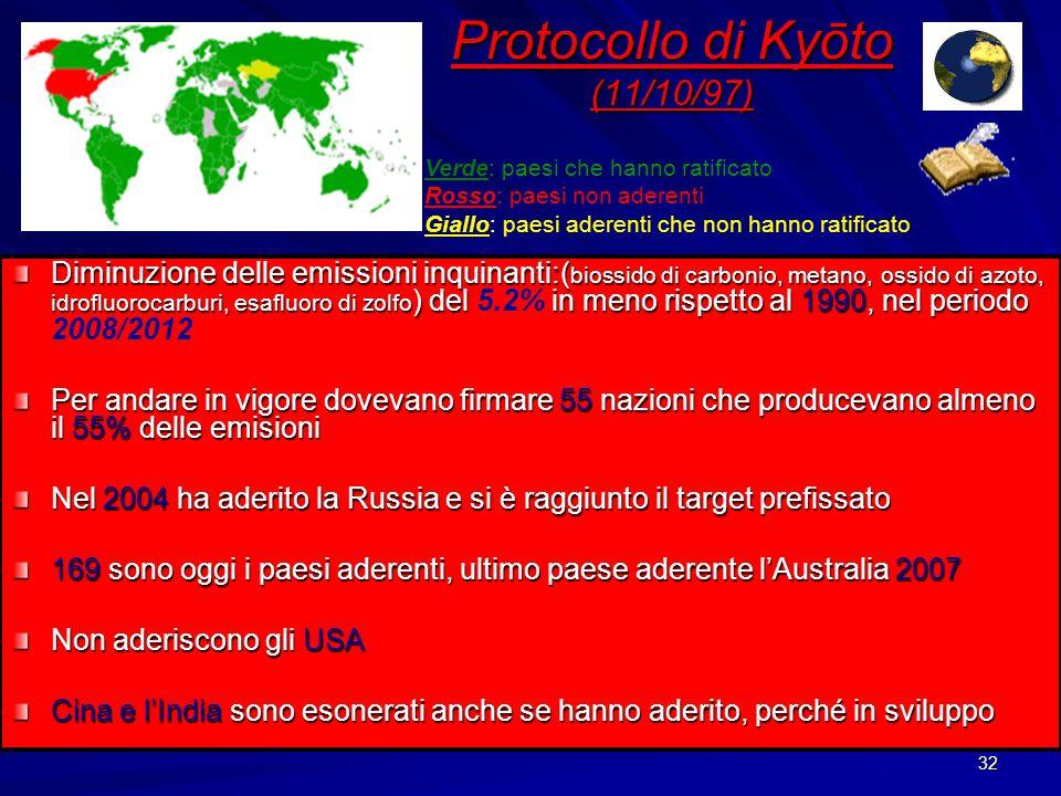 31 Conferenza delle Nazioni Unite sull Ambiente e lo Sviluppo tenutasi a Rio de Janeiro nel Giugno del 1992 alla quale hanno partecipato 175 Nazioni.