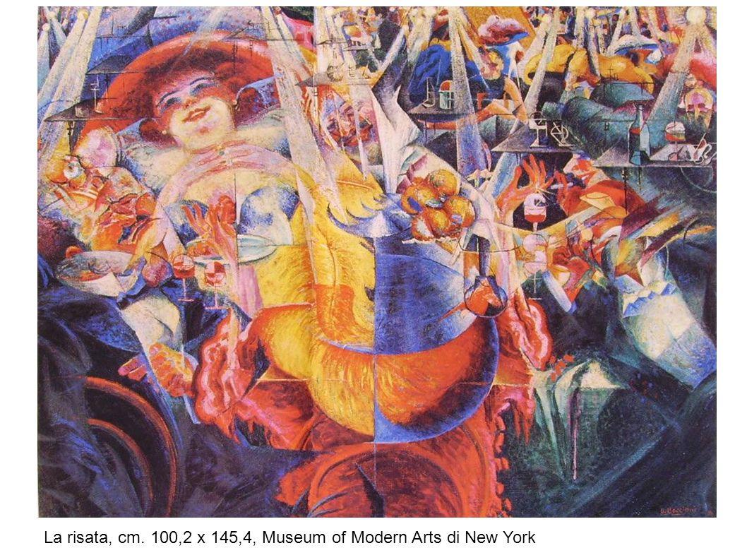 UMBERTO BOCCIONI Forme uniche della continuità nello spazio (1913), Museo del Novecento, Milano Anche nella scultura Boccioni vuole ricercare la sensazione del movimento sfrenato.