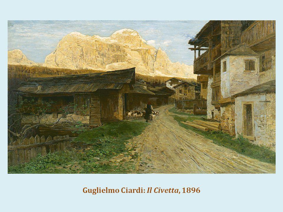 Guglielmo Ciardi: Il Civetta, 1896