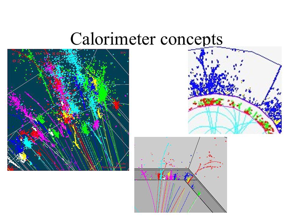 Calorimeter concepts