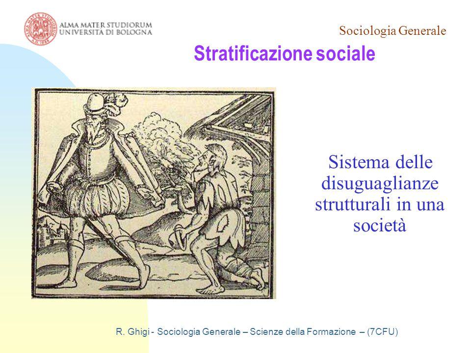 Sociologia Generale R.