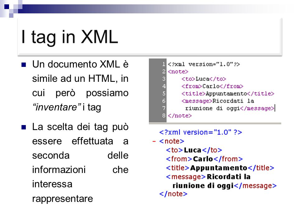 XML: eXtensible Markup Language Logical Structures