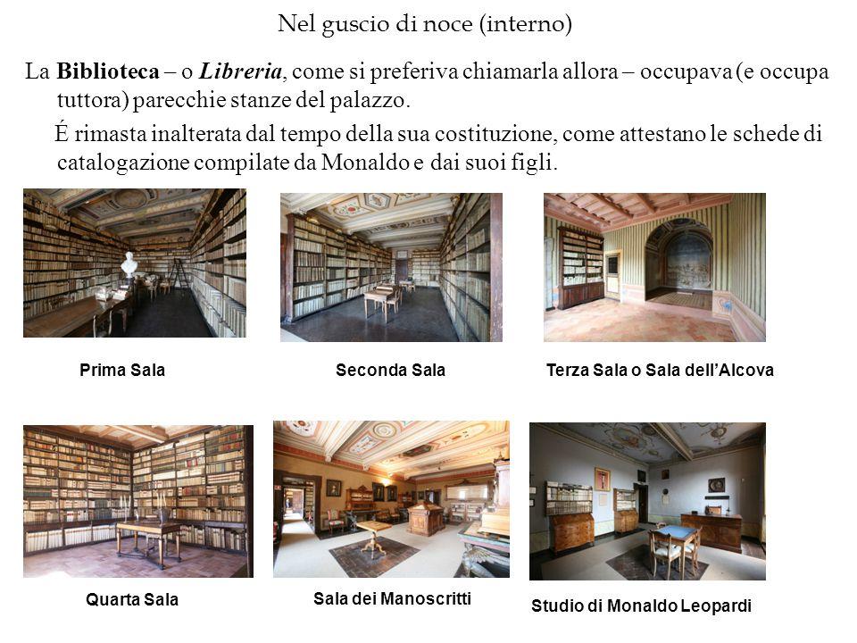 Nel guscio di noce (interno) La Biblioteca – o Libreria, come si preferiva chiamarla allora – occupava (e occupa tuttora) parecchie stanze del palazzo