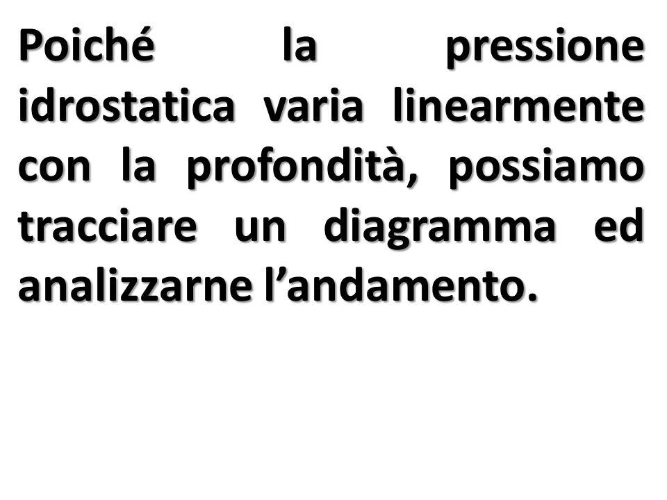 Si definisce Spinta Idrostatica (S) la forza risultante, che una parete sommersa (parzialmente o completamente) di un recipiente sopporta da parte di un liquido, quando questo preme su di essa.