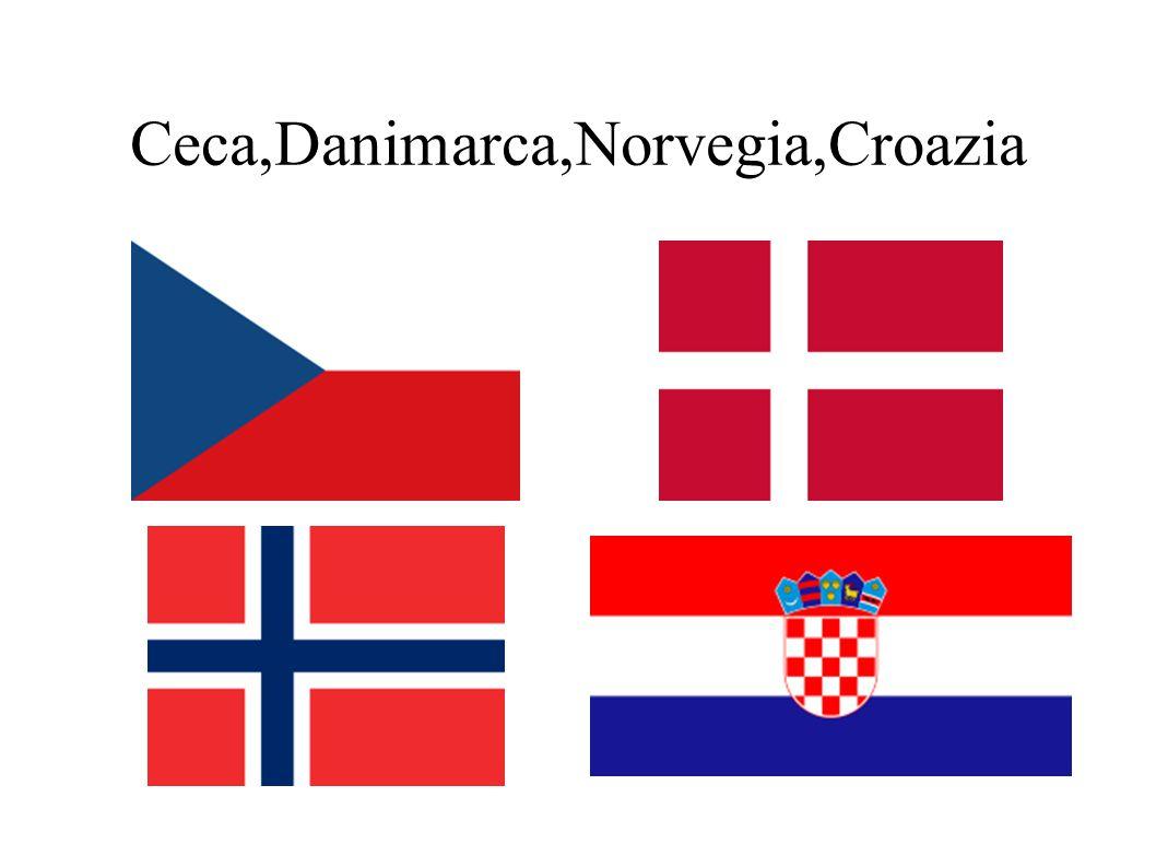Ceca,Danimarca,Norvegia,Croazia