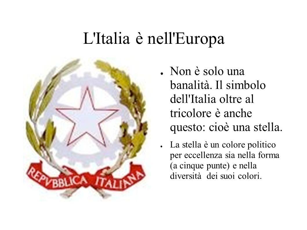 L Italia è nell Europa ● Non è solo una banalità.