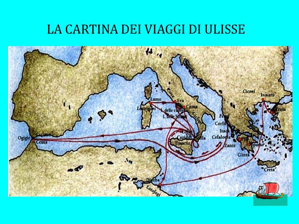 IN VIAGGIO VERSO ITACA 10 anni di ferro, sangue e di polvere Per Ulisse e i suoi compagni era giunta l'ora di tornare verso Itaca A Itaca c'era la fam