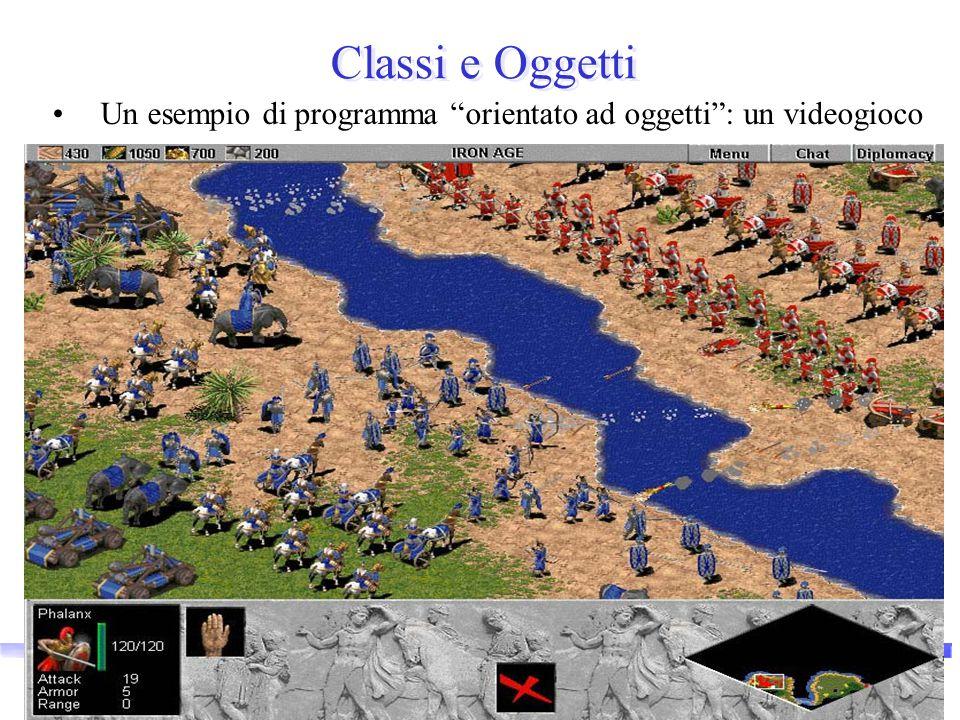 """Vincenzo Innocente - Corso breve OO 14 Classi e Oggetti Un esempio di programma """"orientato ad oggetti"""": un videogioco"""