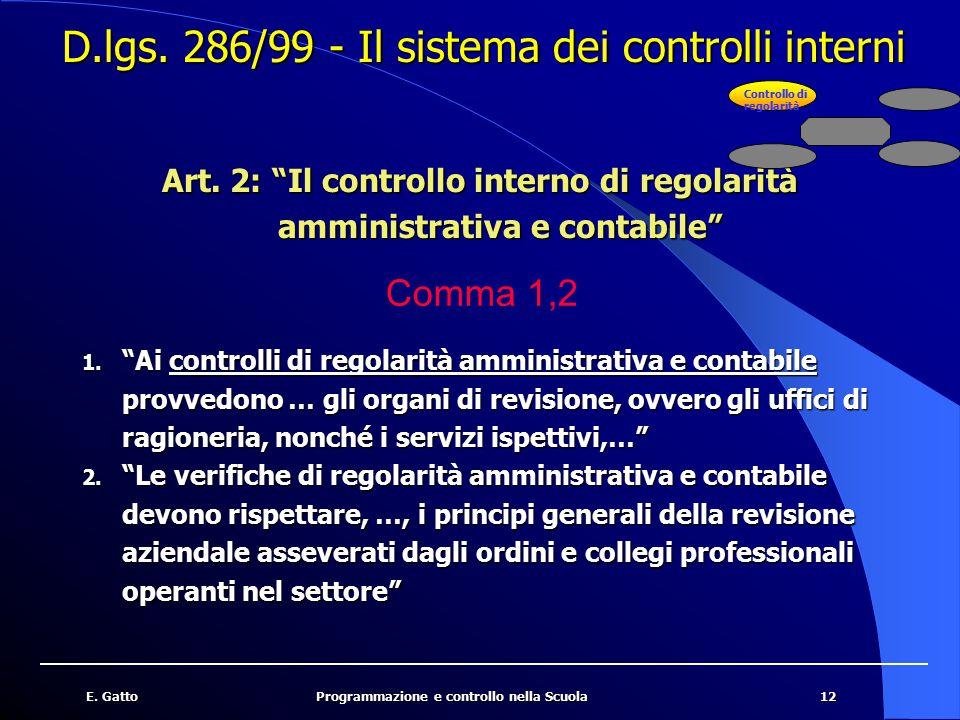 13E.GattoProgrammazione e controllo nella Scuola Art.