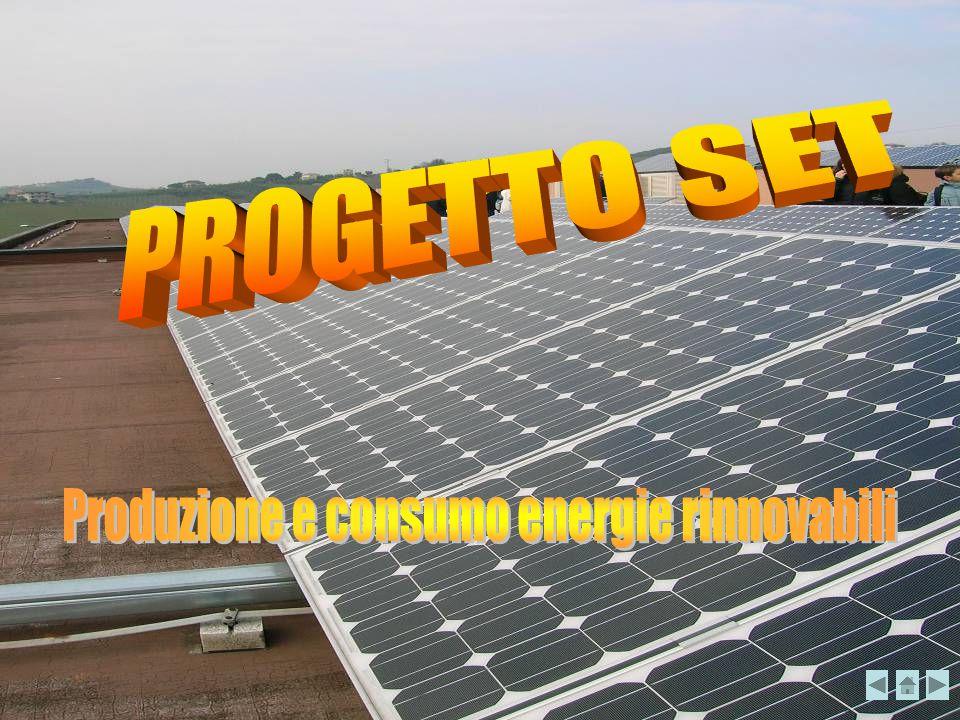 Sfruttano il calore del sole per riscaldare l'acqua Per usi domestici nei pannelli (60°C) Per azionare le turbine nelle centrali