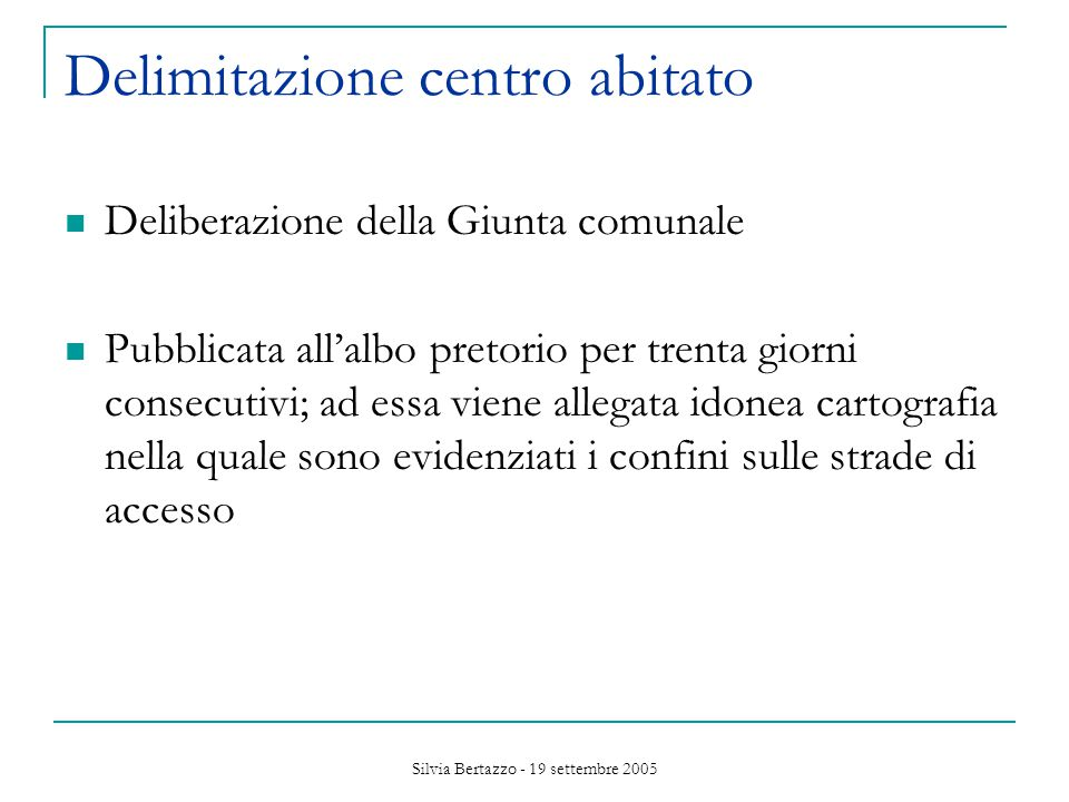 Silvia Bertazzo - 19 settembre 2005 Mobilità urbana – Benzene aerodisperso: l.