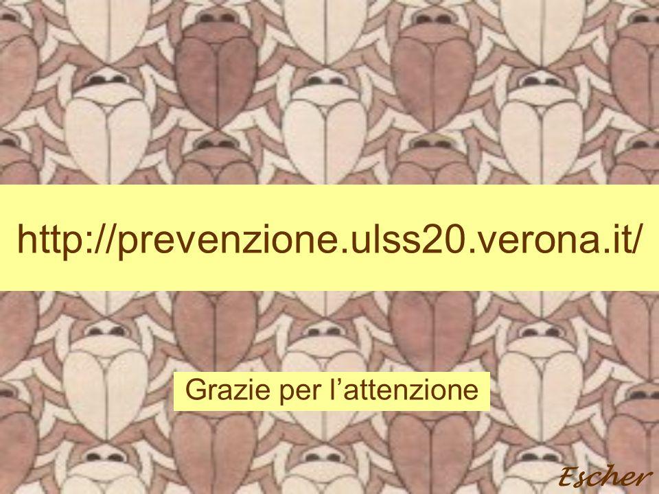 http://prevenzione.ulss20.verona.it/ Grazie per l'attenzione Escher