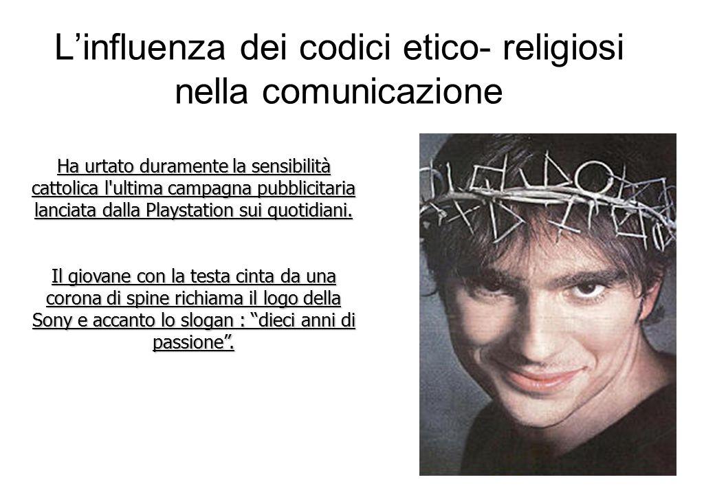 Ha urtato duramente la sensibilità cattolica l ultima campagna pubblicitaria lanciata dalla Playstation sui quotidiani.