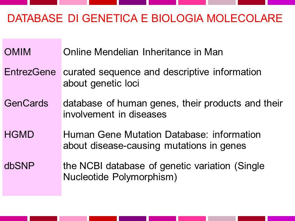 Gene Table