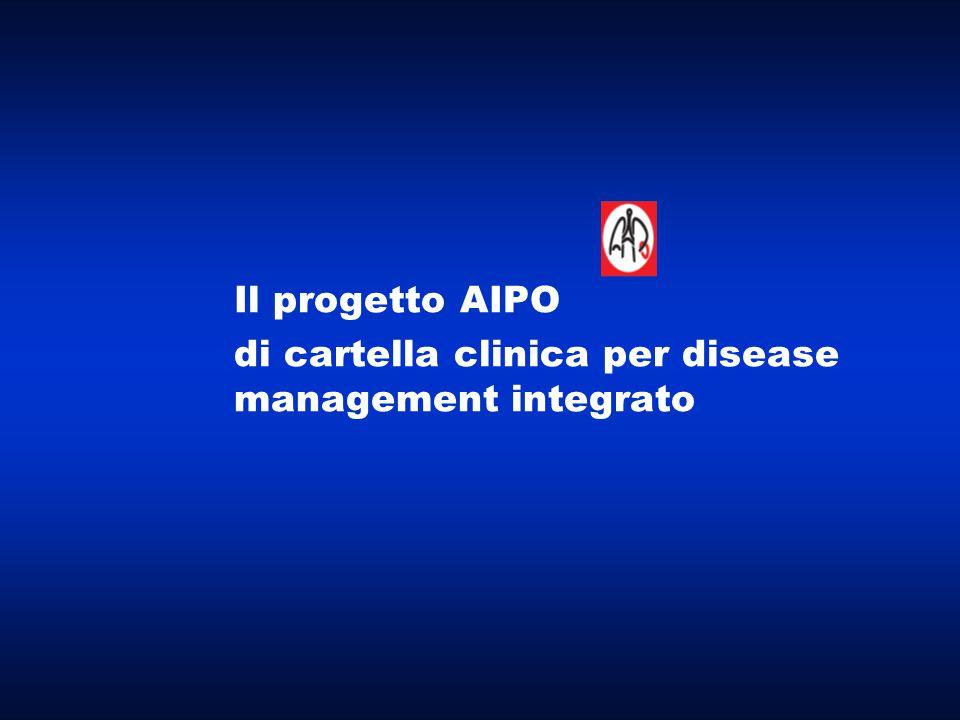 Il progetto AIPO di cartella clinica per disease management integrato