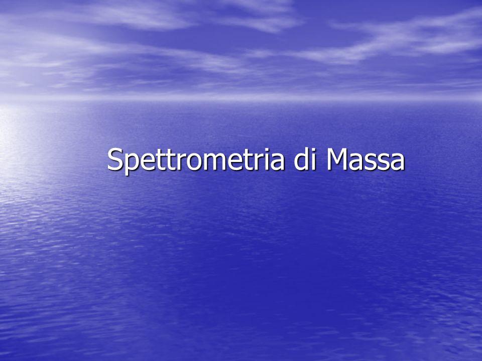 Cos'è uno spettrometro di massa Lo spettrometro di massa è uno strumento che produce ioni e li separa in fase gassosa in base al loro rapporto massa/carica (m/z).