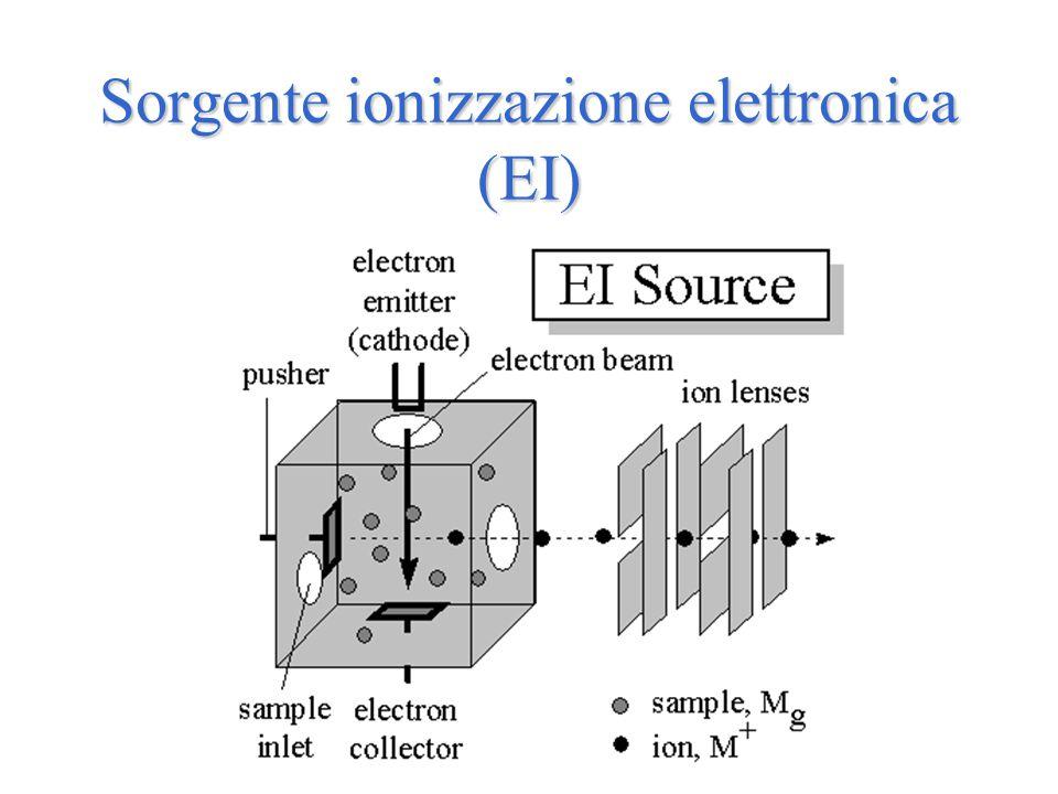 Sorgente ionizzazione elettronica (EI)