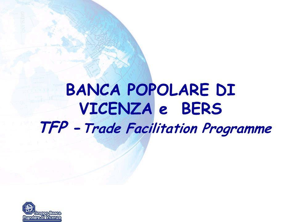 BANCA POPOLARE DI VICENZA e BERS TFP - Trade Facilitation Programme