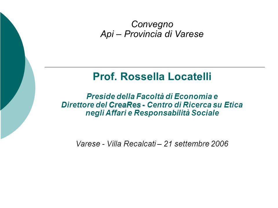 Convegno Api – Provincia di Varese Prof.