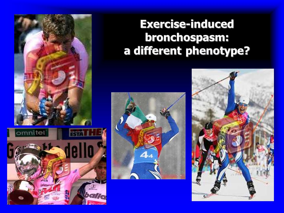 Exercise-induced bronchospasm: a different phenotype?