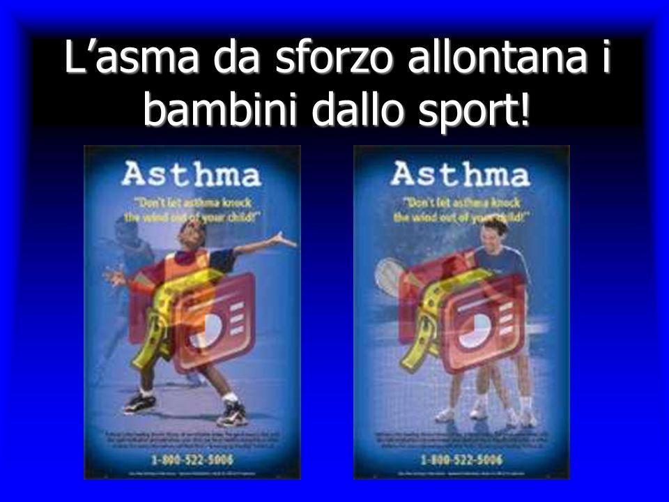 L'asma da sforzo allontana i bambini dallo sport!