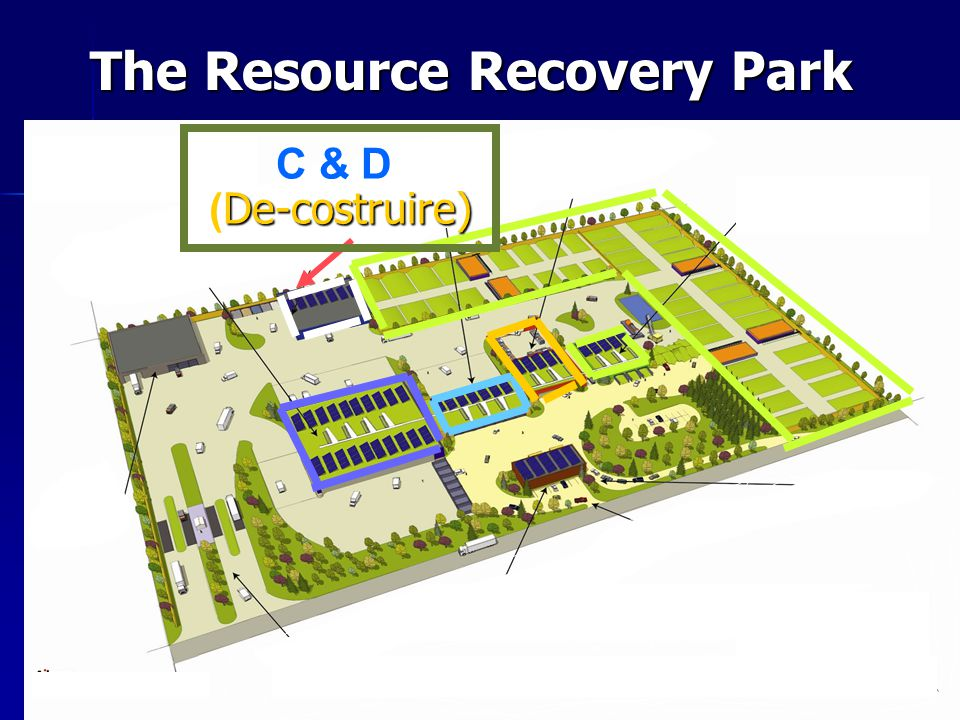 The Resource Recovery Park C & D De-costruire) ( De-costruire)