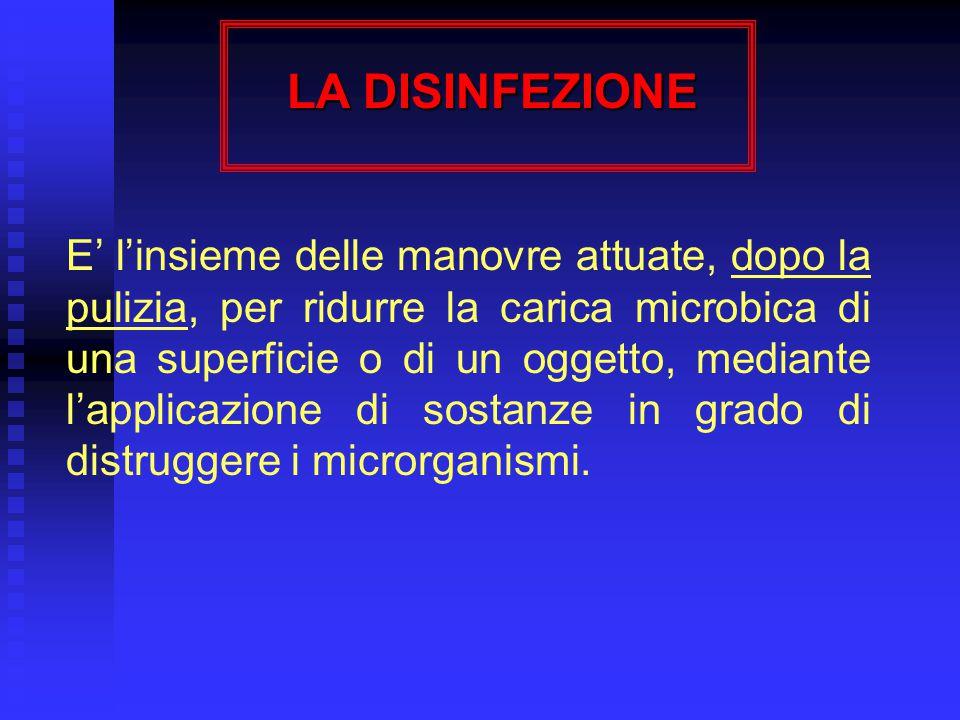 ANTISEPSI DELLA CUTE LESA (ferite traumatiche, escoriazioni, ferite chirurgiche) Prodottiper la detersione - acqua ossigenata - soluzione fisiologica per l'antisepsi - PVP iodio (soluzione acquosa) BRAUNOL, ESOJOD 500, IODOTEN 7,5 - cloroderivati AMUCHINA, MINACHLOR - clorexidina (soluzione acquosa) CLOREXIDINA PIERREL 5% Duratatempo necessario per eseguire la procedura Modalità di esecuzione- detergere l'area della ferita con un tampone imbevuto con il prodotto scelto per la detersione - se necessario, ripetere l'operazione cambiando il tampone - asciugare con un tampone sterile - versare su un nuovo tampone sterile l'antisettico e passarlo, con movimenti circolari, dall'interno all'esterno della zona - se necessario, ripetere l'operazione con un nuovo tampone sterile - se richiesto, coprire con medicazione sterile che deve essere cambiata quando si presenta sporca o umida Noteper la detersione delle ferite, se si utilizza acqua ossigenata, è opportuno risciacquare la zona con soluzione fisiologica prima di applicare un altro antisettico