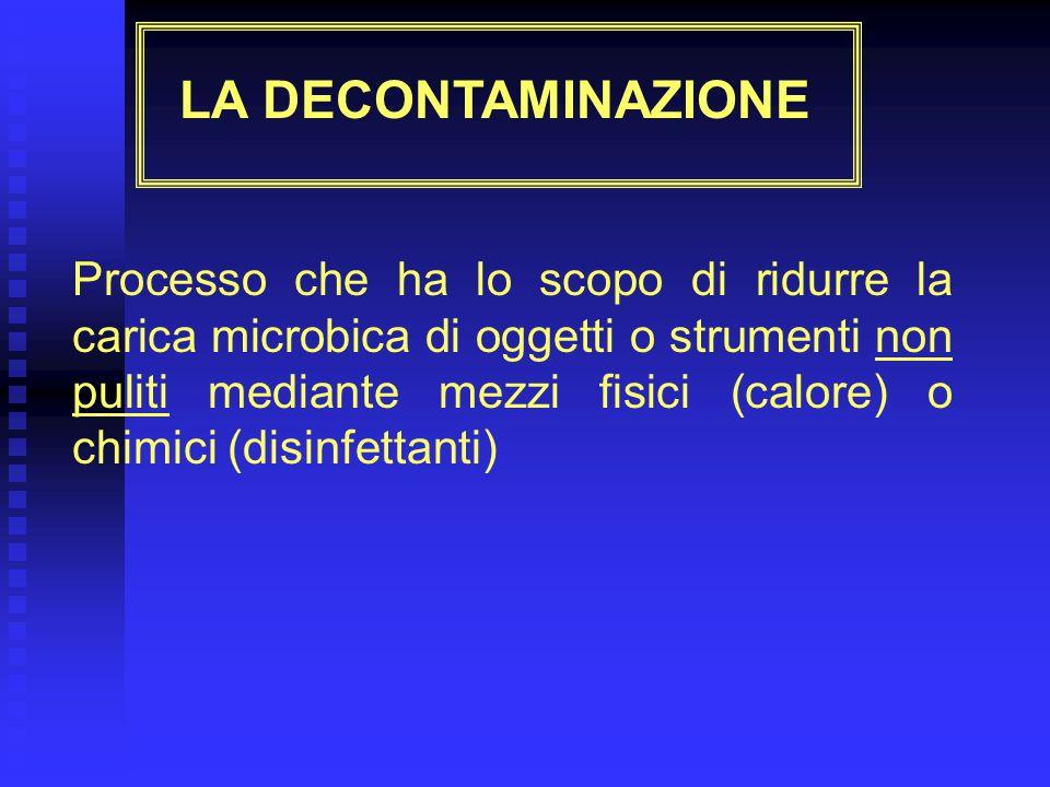 INDICAZIONI PER LA PULIZIA/DISINFEZIONE DI SUPERFICI ED AMBIENTI Per quanto riguarda i prodotti da utilizzare, si possono fornire le seguenti indicazioni: Per la pulizia: è detergenti Per la sanificazione si possono scegliere: è ipoclorito a bassa concentrazione CANDEGGINA DILUITA 1:100 è soluzione polifenolica FENPLUS è clorexidina gluconato + cetrimide CLOREXIDE S è sali di ammonio quaternario in soluzione acquosa CITROSIL NUBESAN Per la disinfezione di superfici od oggetti in ambienti critici, invece, la scelta va fatta solo tra: è ipoclorito CANDEGGINA DILUITA 1:10, AMUCHINA è soluzione polifenolica FENPLUS In particolare: k ipoclorito di sodio (comune candeggina) e derivati del cloro per tutte le superfici non metalliche ad una concentrazione che va da 20 ml/litro di acqua (per superfici non contaminate da materiale organico) a 100 ml/litro di acqua (per le superfici contaminate).