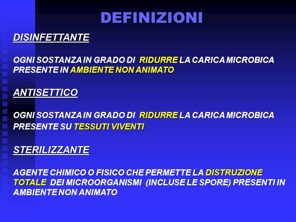 RISCHIO INFETTIVO E OBIETTIVO DI INTERVENTO RICHIESTO E.H.