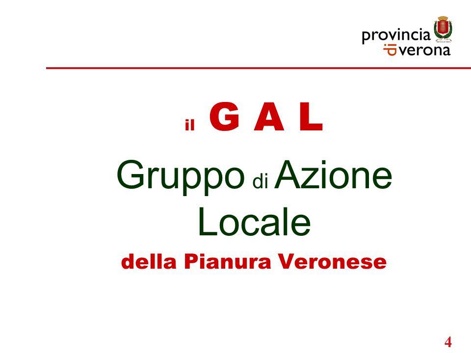 4 il G A L Gruppo di Azione Locale della Pianura Veronese