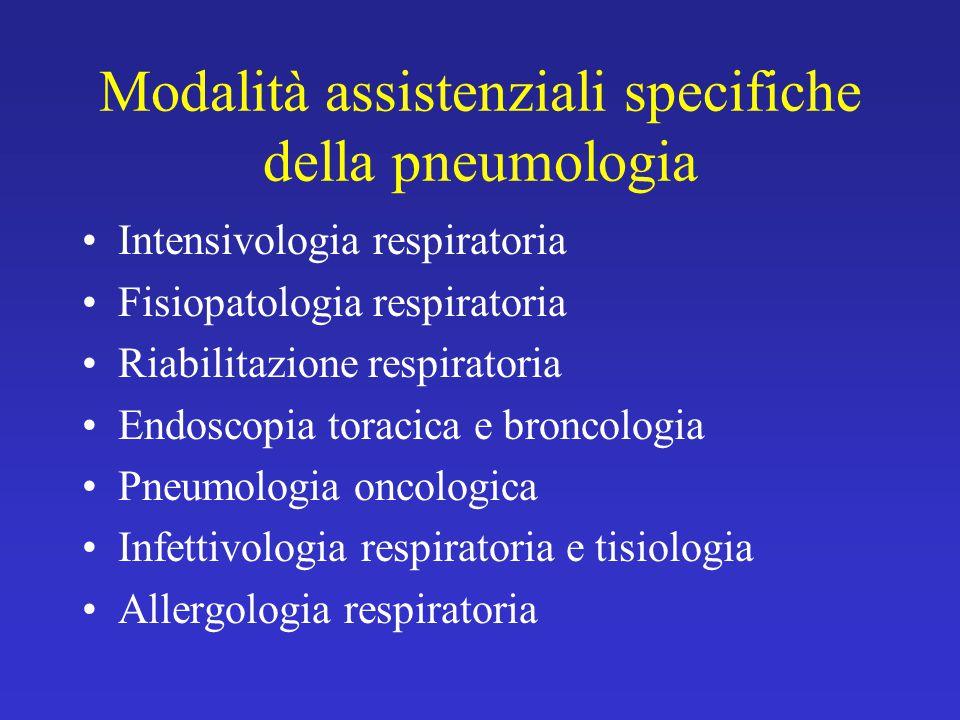 La BPCO in Emilia Romagna (2003): complessità del trattamento