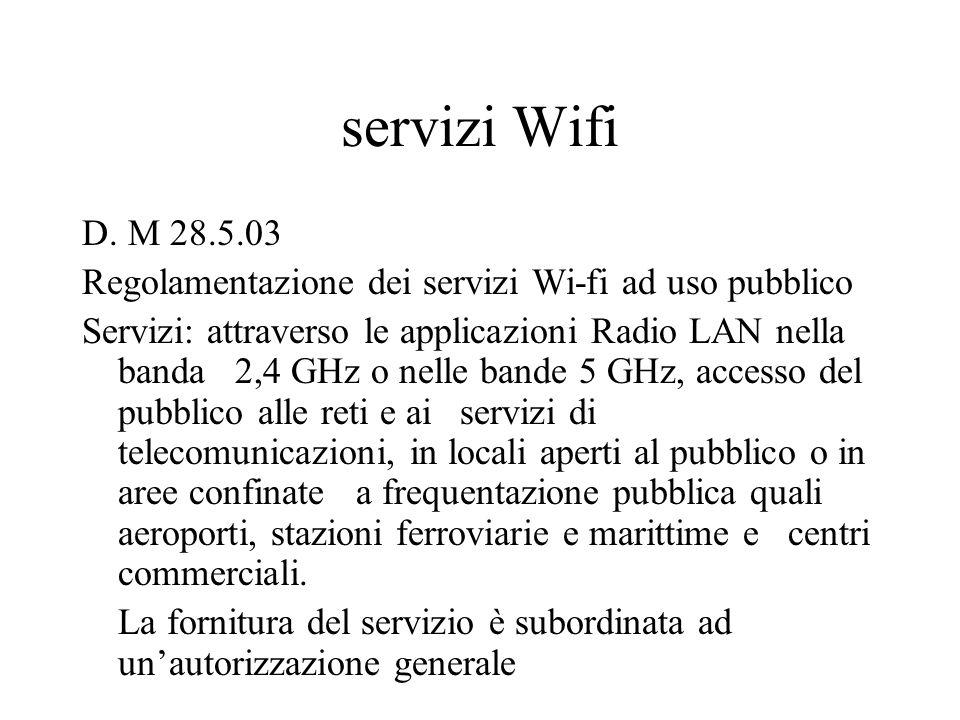 servizi Wifi D.