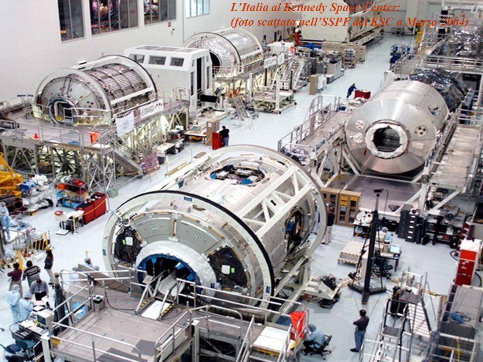 Copyright ASI 2009 1414Roma, 9 aprile 2009 - SP L'Italia al Kennedy Space Center: (foto scattata nell'SSPF del KSC a Marzo 2004)