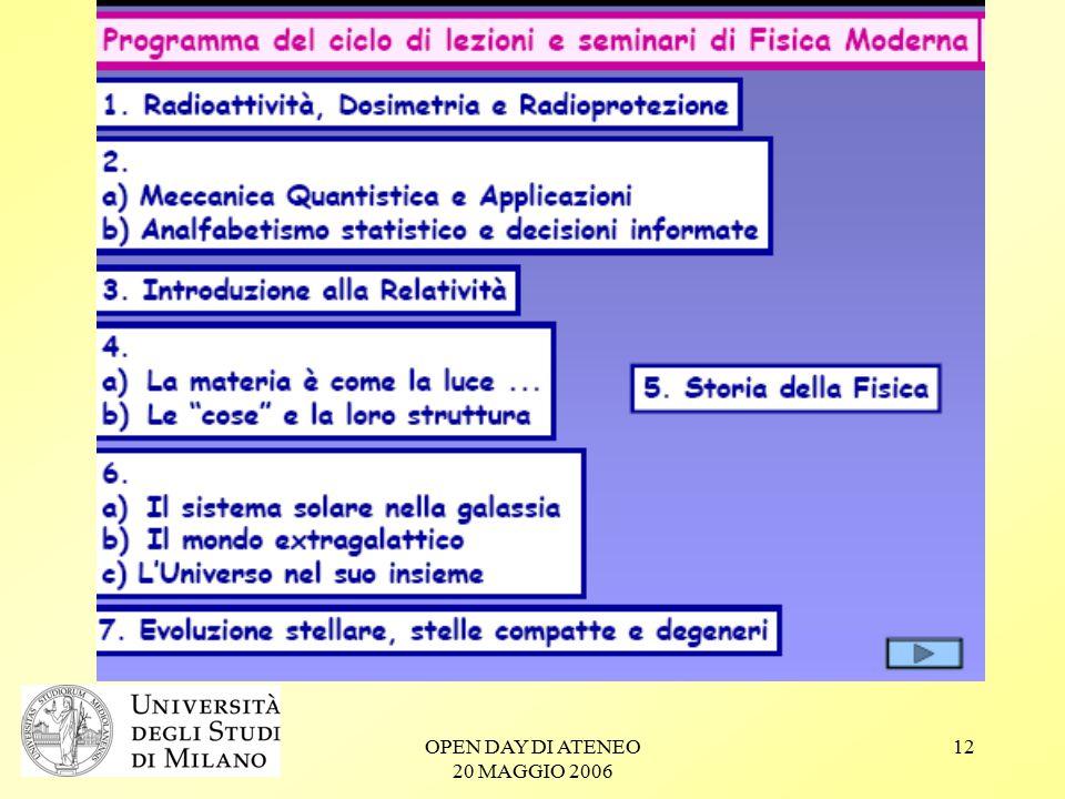 OPEN DAY DI ATENEO 20 MAGGIO 2006 12