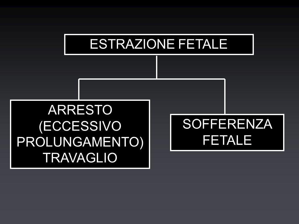 ESTRAZIONE FETALE ARRESTO (ECCESSIVO PROLUNGAMENTO) TRAVAGLIO SOFFERENZA FETALE