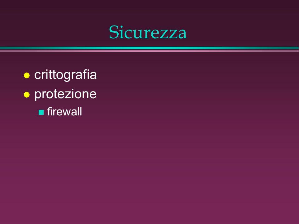 Sicurezza l crittografia l protezione n firewall
