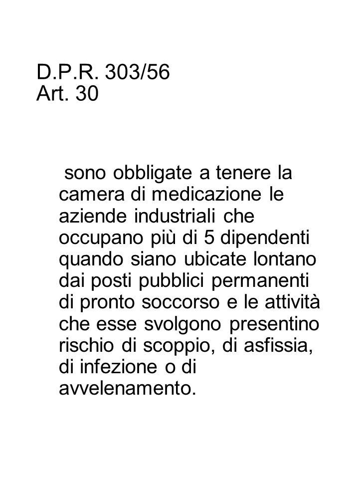 D.P.R.303/56 Art.