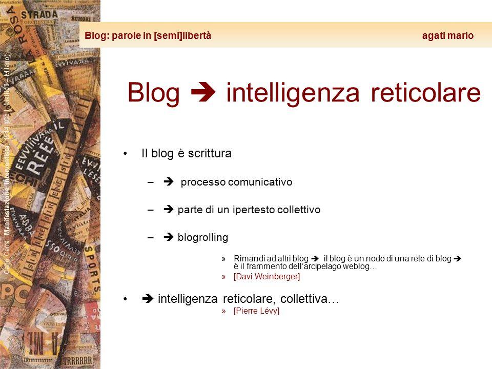 Blog: parole in [semi]libertà agati mario Carlo Carrà, Manifestazione interventista, 1914 (Coll. Mattioli – Milano) Blog  intelligenza reticolare Il