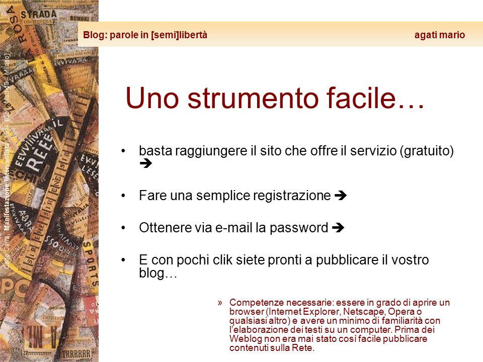Blog: parole in [semi]libertà agati mario Carlo Carrà, Manifestazione interventista, 1914 (Coll. Mattioli – Milano) Uno strumento facile… basta raggiu