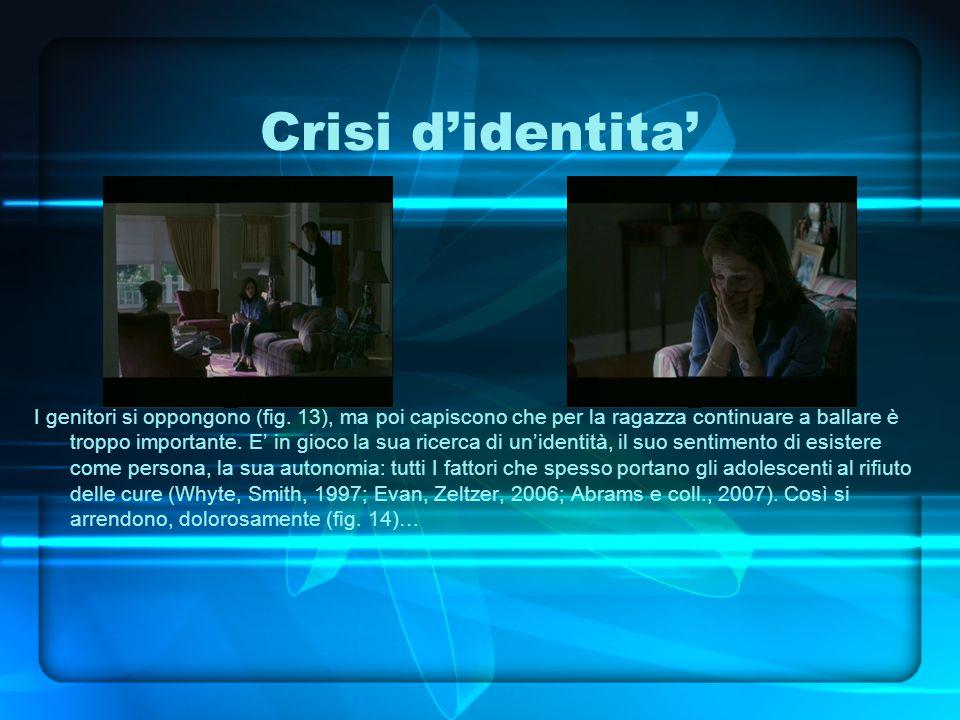 Crisi d'identita' I genitori si oppongono (fig.