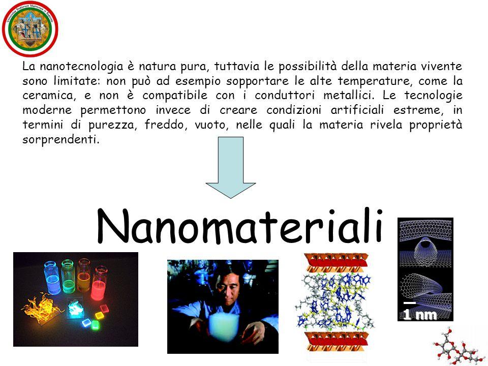 La nanotecnologia è natura pura, tuttavia le possibilità della materia vivente sono limitate: non può ad esempio sopportare le alte temperature, come