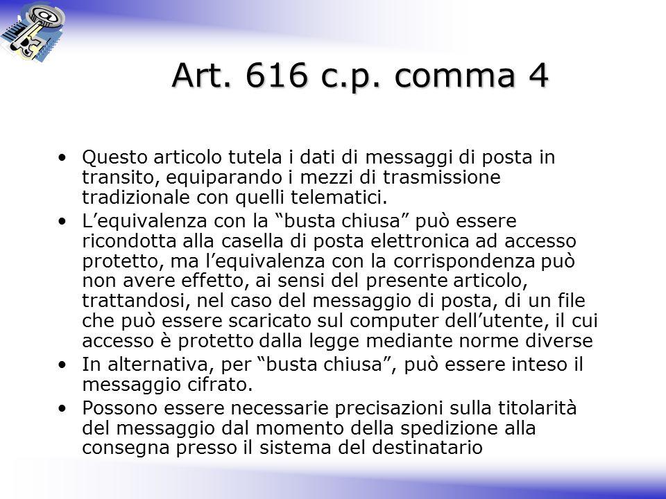 Art.616 c.p.