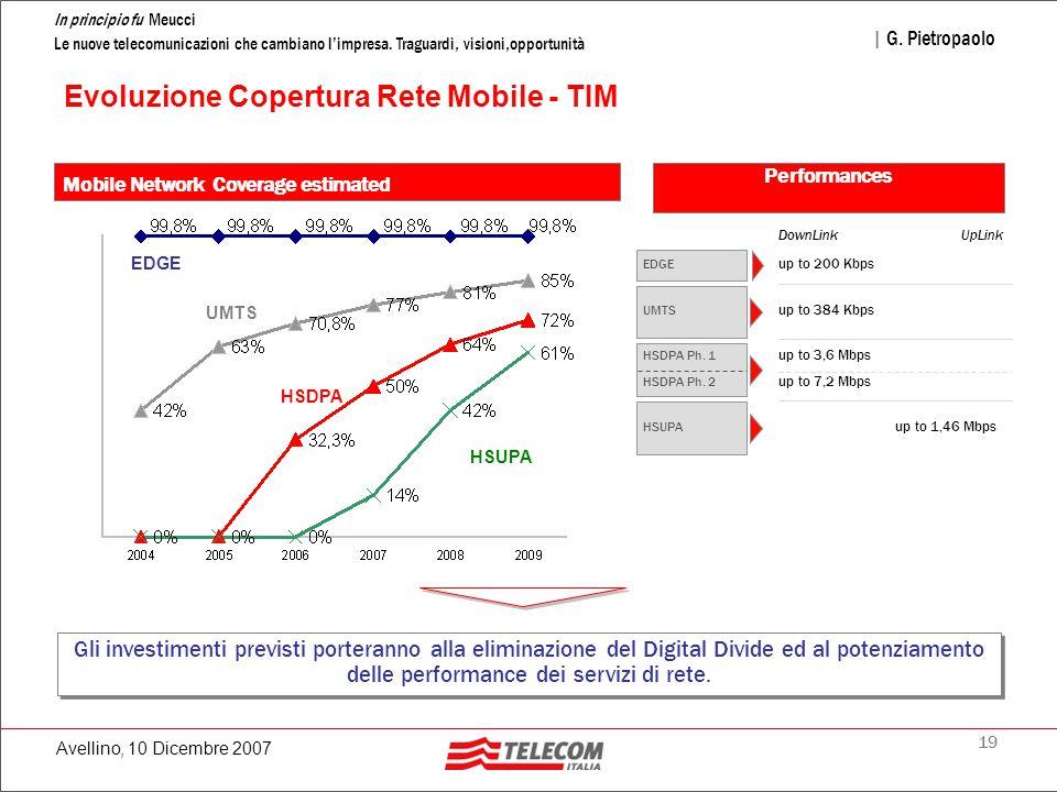 19 In principio fu Meucci Le nuove telecomunicazioni che cambiano l'impresa.
