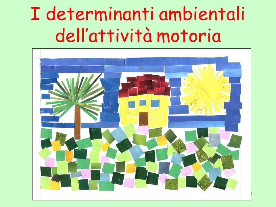 1 I determinanti ambientali dell'attività motoria