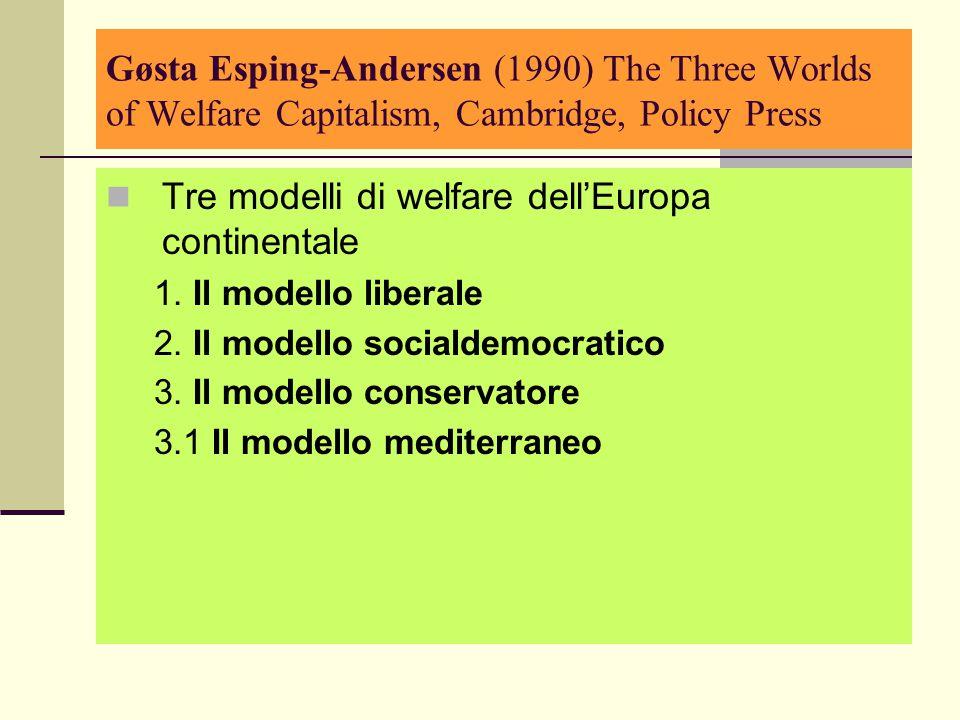 La famiglia italiana: caratteristiche e bisogni 3.