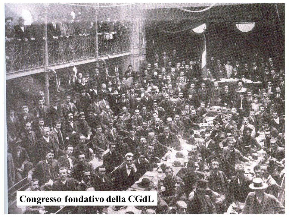 Congresso fondativo della CGdL