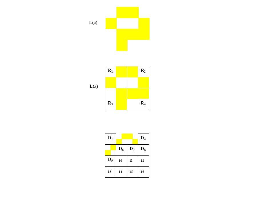 L(a) R1R1 R2R2 R3R3 R4R4 D4 D1D4 D1 D7 D1D7 D1 D6 D1D6 D1 D1 D1 D9 D1D9 D1 12 13 16 14 D8D8 10 11 15